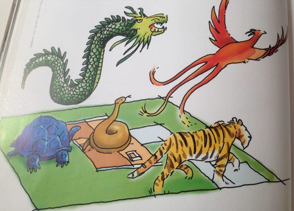 De fem himmelske dyrene