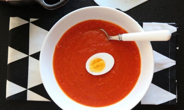 Hjemmelaget tomatsuppe fra Trines matblogg