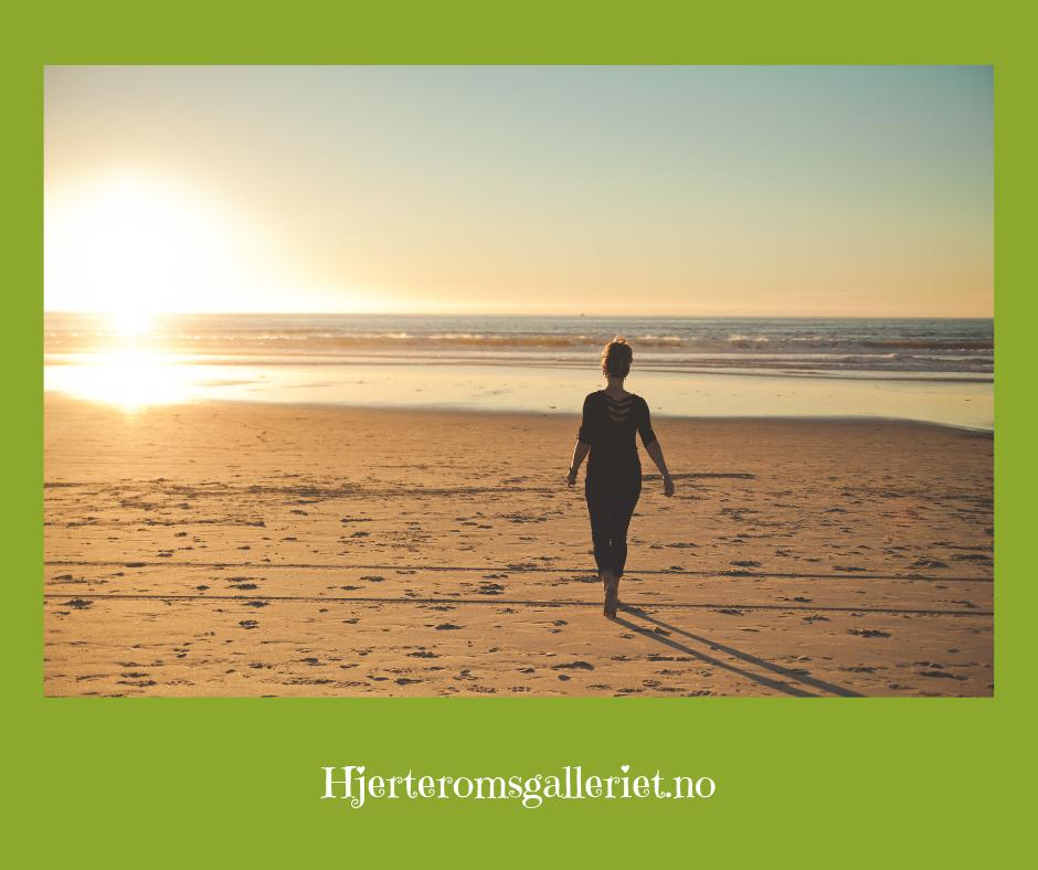 Ta dine egne skritt i et tempo som passer for deg